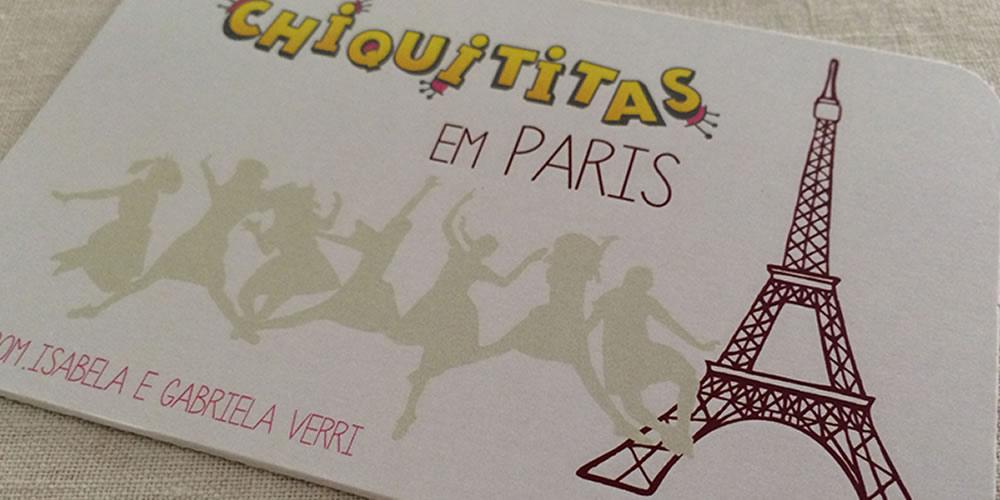 Chiquititas em Paris