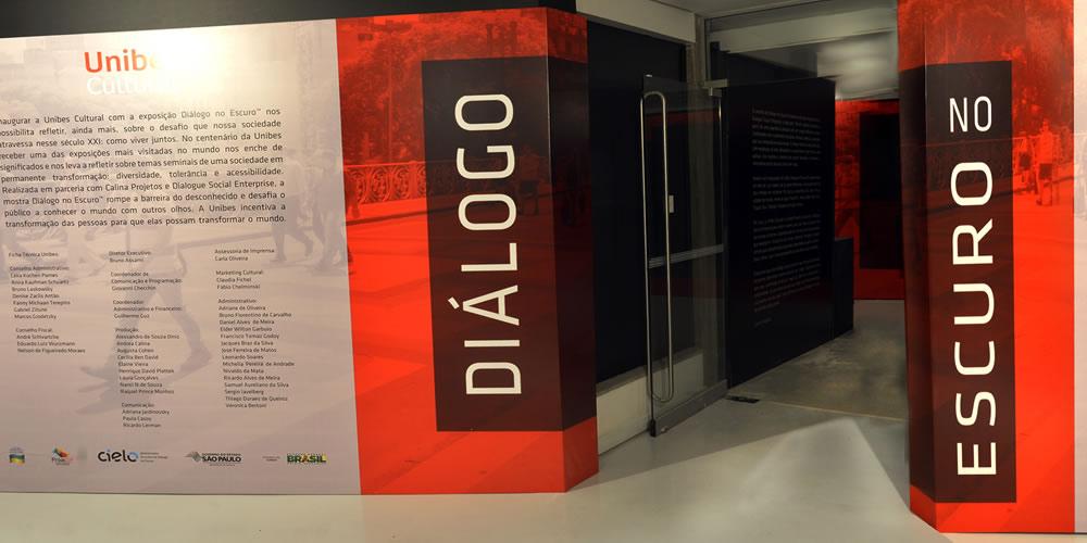 Exposição: Diálogo no Escuro