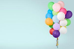 Balloon, baloon, bunch
