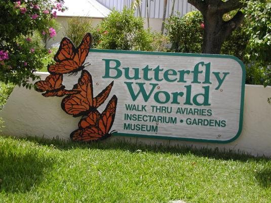 butterflyworldsign