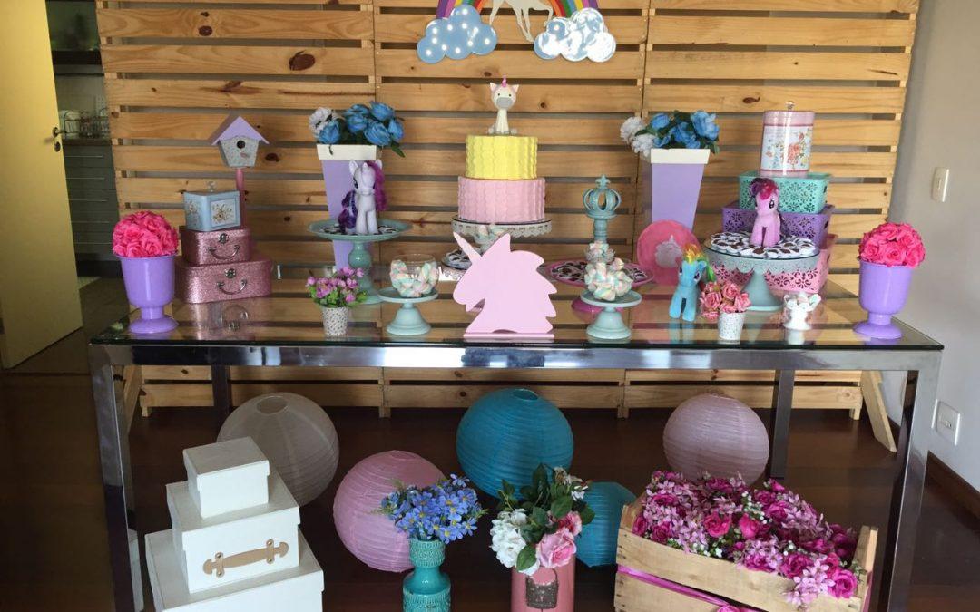 Unicórnio: toda a magia numa festa de aniversário