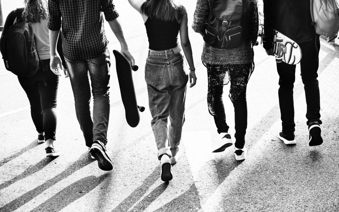 As amizades na adolescência