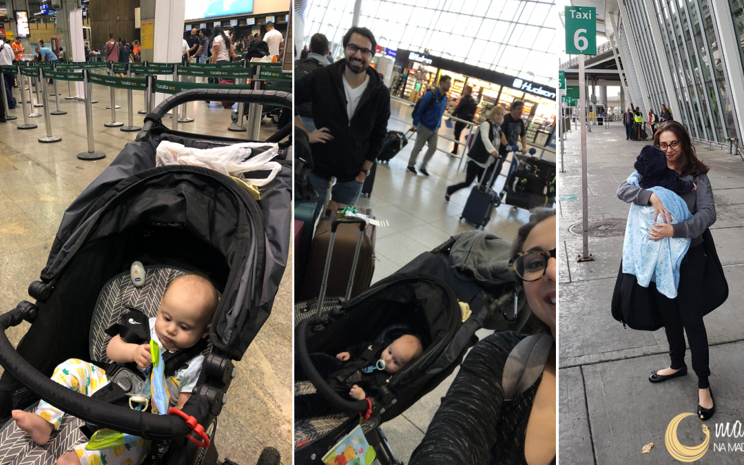 7 dicas: itens para viagem com bebê