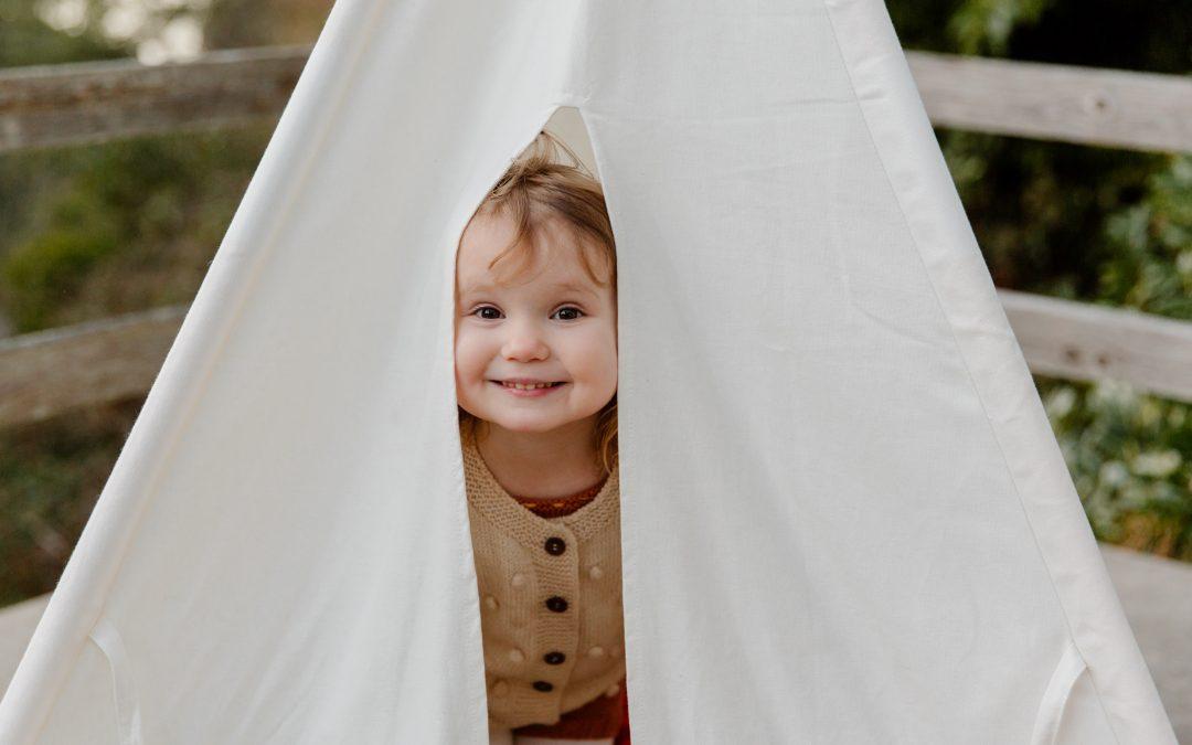 Como montar uma barraca para as crianças