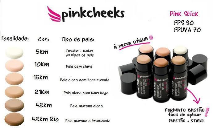 Protetor Solar em Stick Pink Cheeks