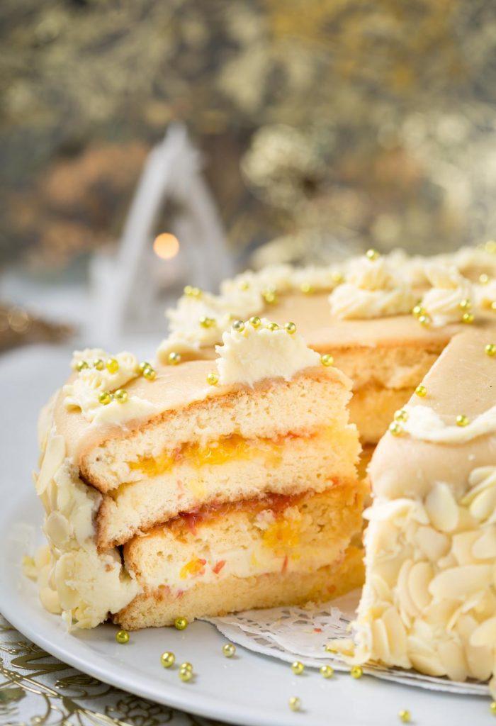 Receita Fácil de Sponge Cake