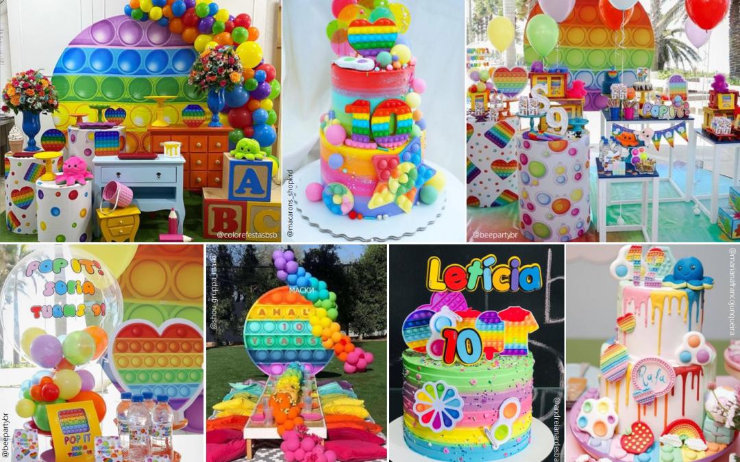 Tema de festa Fidget Toys
