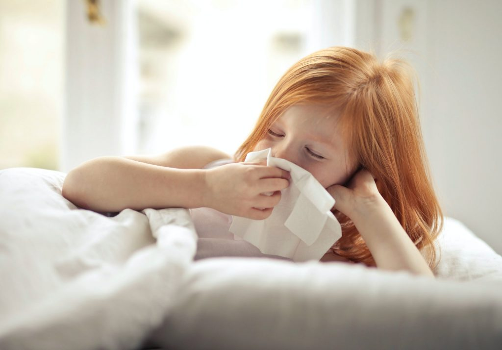 Sinusite em crianças