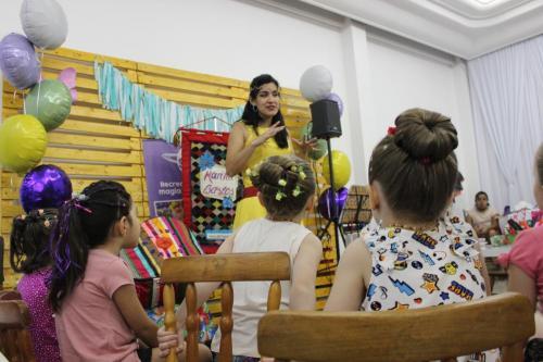 4ª Feira Mamis - Edição SaleContação de Histórias com Marina Bastos